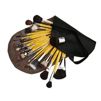 Studio Luxury 24pc. Brush Set with Roll-up Pouch