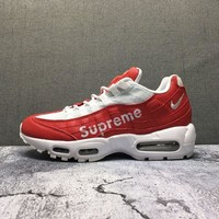 Supreme x Nike Air Max 95 Red/White Size 36-45