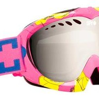 Snowboard Goggles - Spy Targa Mini - Monroe / Bronze with Silver Mirror