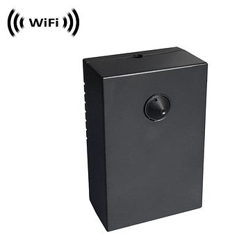 WiFi IP Wireless Spy Camera (External Super Conical Pinhole Lens) (Macro Focus Possible) by SCS Enterprises ®
