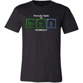 Periodic Table Science Funny Workout T-shirt