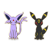 Espeon and Umbreon Pokémon Pins