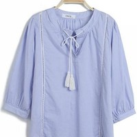 Kawaii Lolita Princess Style Loose Shirt - S M from Tobi's Finds