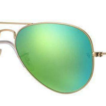 CREYNW6 Ray Ban Sunglasses Aviator, 58mm