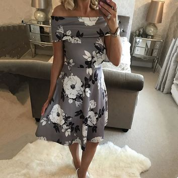 Print Dress Women s Fashion One Piece Dress  11791022479  d4c48978e