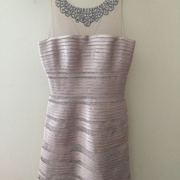 Bcbg Morgane Champagne Dress Size 0