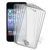 Everydaysource For Apple iPod touch 4th Generation, 6-pieces Reusable Anti-Glare Screen Protector