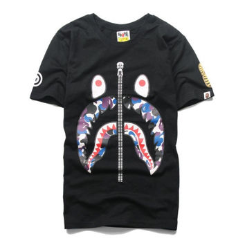 Zip Face Bape T Shirt