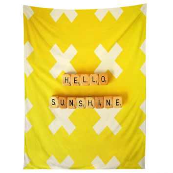 Happee Monkee Hello Sunshine Scrabble Tapestry