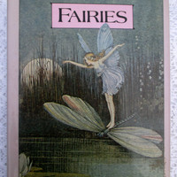 FAIRIES by Avril Rodway, the Leprechaun Library, GP Punam's Sons New York - 1981 - Illustrated, 54 pages