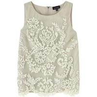 Topshop Sage Lace Top, £40 - In Stores Only | Look