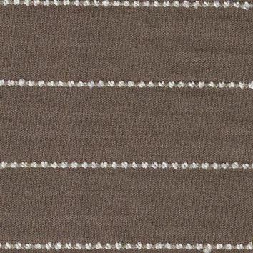 Brown and Cream Stripe Fabric-Acrylic Backing