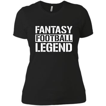 Fantasy Football Legend T-Shirt for Women Men Kids