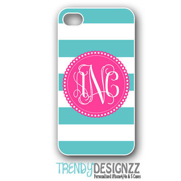 Personalized iPhone case iPhone 4 case iPhone 5 by TrendyDesignzz