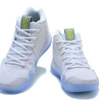 How To Buy 2018 New Nike Kyrie 4 White Volt Shoes Brand sneaker