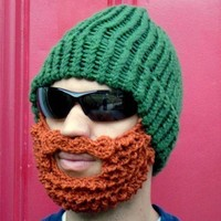 5 dollars off - green lumberjack hat for red-heads