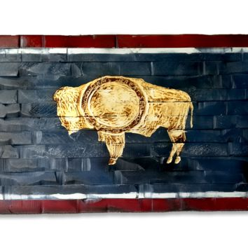 Wyoming State Flag 60x32