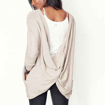Reversible Twist Tunic - A Kiss of Cashmere - Victoria's Secret