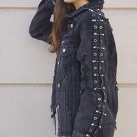 """Black Betty"" Denim Jacket"