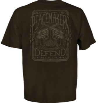 NRA Peacemaker Men's Short Sleeve T-Shirt