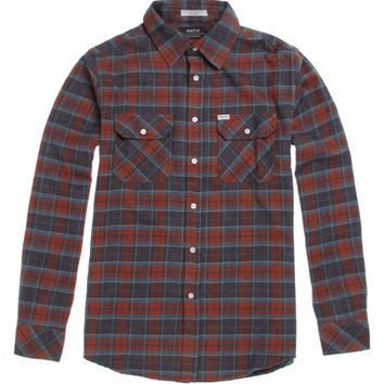 Matix Dahlen Flannel Shirt - Mens Shirts - Red