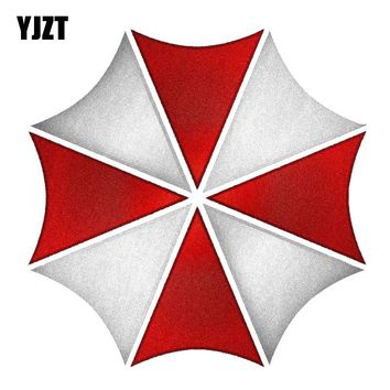 YJZT 15CM*15CM Car Styling Personality Reflective Car Sticker RESIDENT EVIL UMBRELLA CORPORATION Decal C1-7536