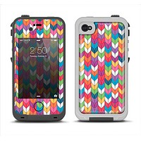 The Color Knitted Apple iPhone 4-4s LifeProof Fre Case Skin Set