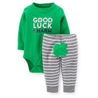 St. Paddy's Day Bodysuit & Pant Set