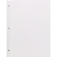 Staples® Reinforced Filler Paper, Graph Ruled, 4x4, 8-1/2