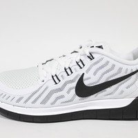 Nike Women's Free 5.0 2015 White/Black Running Shoes 724383 100