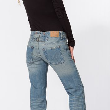 Country Chic Distressed Boyfriend Jeans