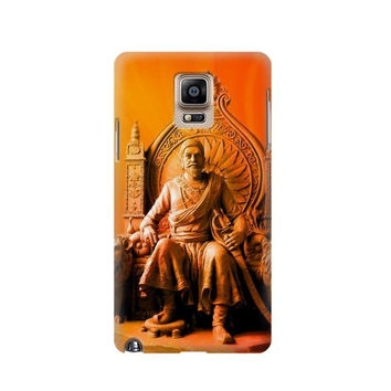 P1104 Shivaji Maharaj Comes Marathas Case For Samsung Galaxy Note 4