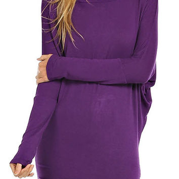 Violet Pullover Tunic