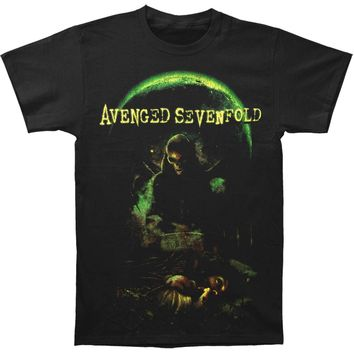 Avenged Sevenfold Men's  AVS Killing Moon Mens Regular T T-shirt Black