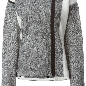 T By Alexander Wang Intarsia knit sweater