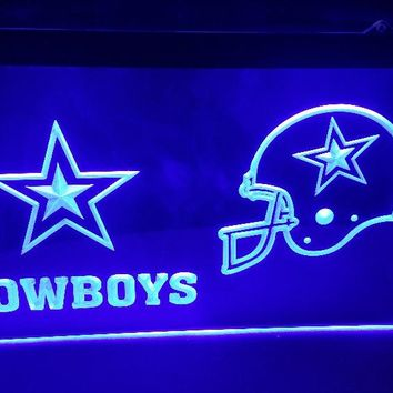dallas cowboys Football Club Bar LED Neon Light Sign home decor crafts