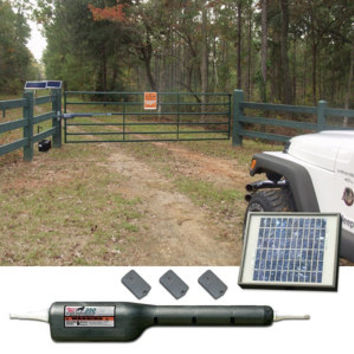 Mighty Mule RSCK350 Automatic Gate Opener Rancher Solar Combo Kit - For Life Out Here