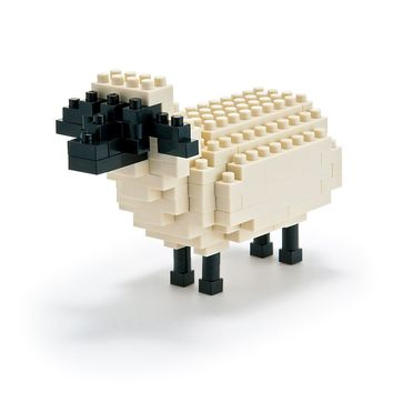 Nanoblock Sheep 3D Puzzle