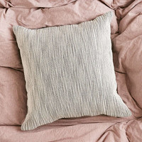 4040 Locust Shadow Stripe Pillow | Urban Outfitters