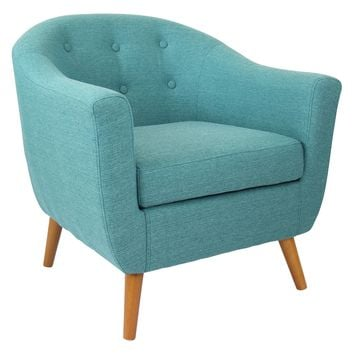 Rockwell Teal Accent Chair by LumiSource