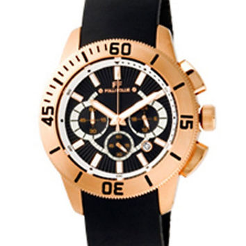 Folli Follie Ladies Olyteus Rose Gold Chronograph Watch