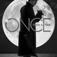 "Once Upon A Time Poster Black and White Mini Poster 11""x17"""