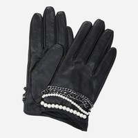 K/Chain Gloves - Karl Lagerfeld