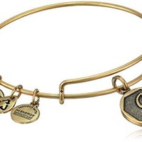 Alex and Ani Initial Expandable Wire Bangle Bracelet 25quot