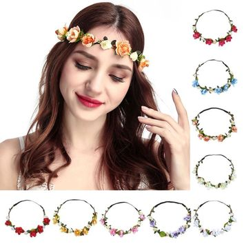 Floral Garland Hair Band