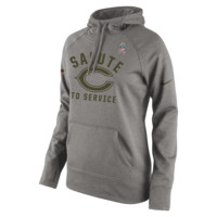 Nike Salute to Service Pullover (NFL Bears) Women's Performance Hoodie