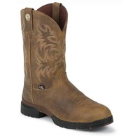 Justin Men's GS9010 George Straight Waterproof Cowboy Boots - Tan Gaucho