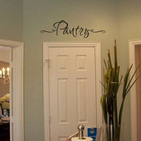 Pantry Vinyl Wall Decal Sticker for the Kitchen