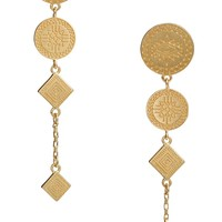 Rebecca Minkoff Etched Coin Drop Earrings | Nordstrom