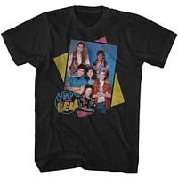 Saved By The Bell Group Boxes Mens T-Shirt